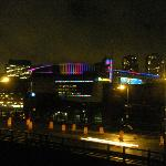 TD Garden is right over the Charles River from hotel
