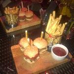 Mini Burgers done 3 ways