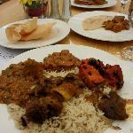 indian buffet dinner