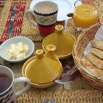Breakfast at Riad Andalla