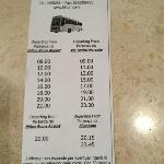 downtown Rome shuttle schedule