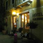 Façade de l'hôtel Guerrini