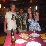 Us with Dinu