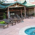 More pool area