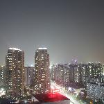 Seoul at night from my window!