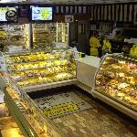 Interior of Kretchmar's Bakery in Beaver PA