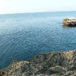 Badebereich im Meer
