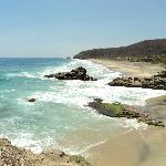 Vista desde Punta Cometa de Playa Mermejita
