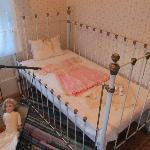 Child's crib.