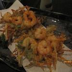 Ebikakiage (legumes fatiados com camarão tempura)