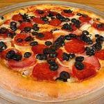 Portuguese pizza special.