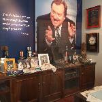 Tim Russert's office
