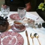 Tea Room table setting