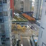 street below