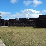 Entrada do Forte de Santa Catarina