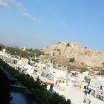 Acropolis from the roof top
