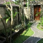 entrance, villa pucuk