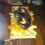 1 kilo steak.