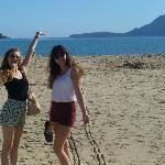 The beach was fantastic