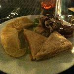 Sandwich from Cafe Salil