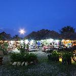 inside Angkor Night Market