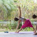 yoga in the garden sala