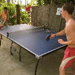 Table Tennis on the beach