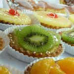 Tartaletas de kiwi