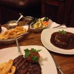 mum had the steak
