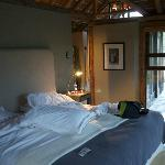The bed, Room 9