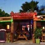 Entrance to Taco Macho in sxm