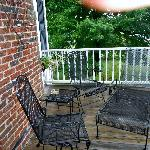 2nd Floor Patio Victorian Room