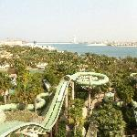 Water park aerial shot
