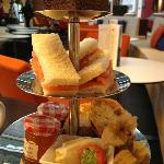 Afternoon Tea @ Sealevel, Restaurant, Marriott, Portsmouth