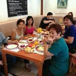 breakfast at mercure hotel taken this november 14,2012