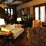 Living room in main house