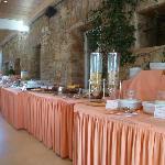breakfast buffet--adequate