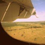 vistas desde la avioneta