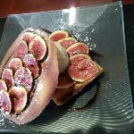 tarte aux figues chaude