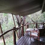 room ( = tent ) terrace