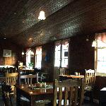 Former village hall now cosy tearoom