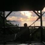 sunrise from hammock pavilion