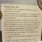 Info on hotel in lift