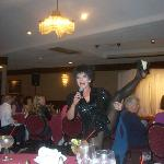 Here, Laura Roth performs as Liza Minelli