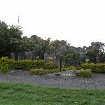 Flycatcher Castle vu depuis le jardin