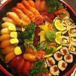 Mix sushi pour 4personnes
