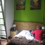 Loft bedroom by far the nicest room