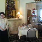 Nancy and her tea room