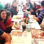 Family lunch at Glenstone Steak n Shake