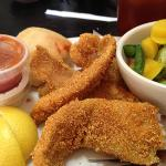 fried catfish is good delicious too
